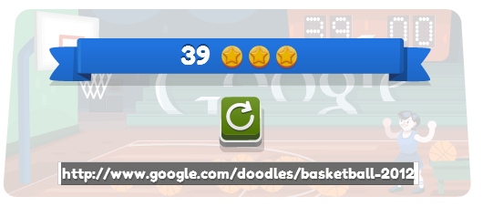 Google Basketball Score
